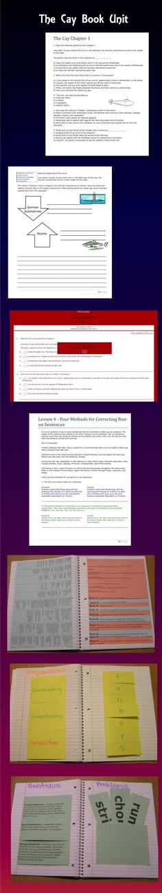 The Cay Resource Guide contains lessons aligned to the Common Core Standards for grades 5 – 8. This comprehensive unit includes vocabulary, comprehension questions, constructive response questions, and lessons on sentence errors and dialect.   ++ Included with this book unit is the username and password to all the interactive quizzes for this book online. $