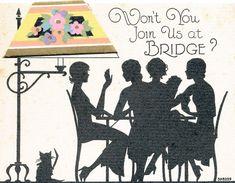 Vintage bridge invitation | by B-Kay