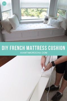 DIY French Mattress Cushion