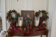 I like the Apple Peal paint color with the white trim... My home for Christmas 2013 and winners! - The Enchanted Home