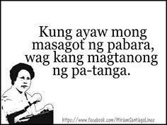 Tagalog Quotes Patama, Tagalog Quotes Hugot Funny, Memes Tagalog, Hugot Quotes, Filipino Quotes, Pinoy Quotes, Tagalog Love Quotes, Up Quotes, Jokes Quotes