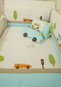 Arabalı bebek uyku seti / baby bedding sets #babybeddingsets