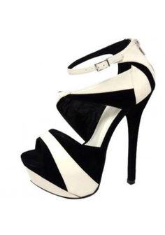 FAUX SUEDE COLOR BLOCK SEXY STILETTO SANDALS-Sandals-Sexy Sandal, High heel sandals, prom dress sandals, Evening dress sandals, Party Dress sandals, Club Dress sandals, Thong sandals