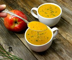 A creamy soup using a unique apple variety, try SweeTango today from NoblePig.com