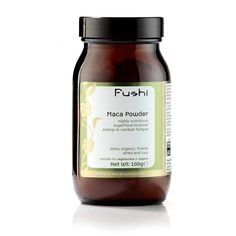 Maca powder - improves immune system, balances hormones and improves brain function