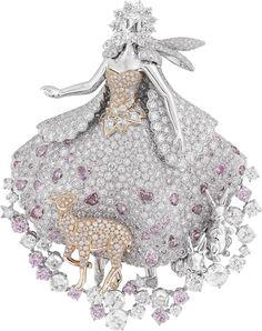 Van Cleef and Arpels Peau d'Ane jewelry collection | Margo Raffaelli