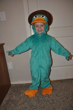 Disney Phineas and Ferb Perry the Platypus Halloween Costume www.mydisneylove.com
