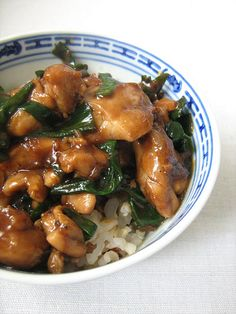Chicken With Spring Onions