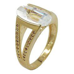 Dreambase Ring, 14mm gold-plattiert Zirkonia Dreambase https://www.amazon.de/dp/B00H2IE9DC/?m=A37R2BYHN7XPNV