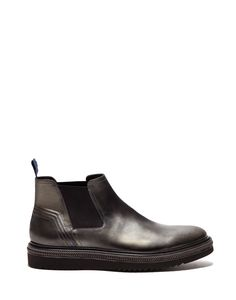 OLIVER CHELSEA BOOTS IN LEATHER WITH A SUPER LIGHT TRIPLE-BAND SOLE - Shoes Man - Alberto Guardiani