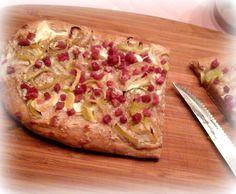 Simi´s Sattmacher: Flammkuchen mit Lauch