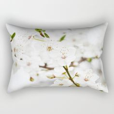 Buy White blooming Rectangular Pillow by ARTbyJWP. Worldwide shipping available at Society6.com. Just one of millions of high quality products available.