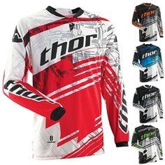 2014 Thor Phase Swipe Youth Motocross Jerseys