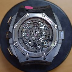 If you had any doubts about the technical prowess of This Audemars Piguet Concept Laptimer, don't.