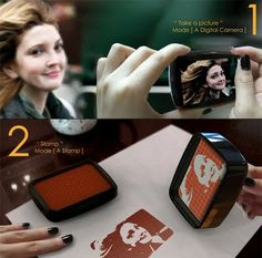 omg, i absolutely need this. Turns your photo into a stamp, how cool