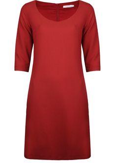 Fracomina FR16FP615 Czerwony - Rochii Femei - Rochii de Zi Femei Short Sleeve Dresses, Dresses With Sleeves, Stuff To Buy, Fashion, Moda, Sleeve Dresses, Fashion Styles, Gowns With Sleeves, Fashion Illustrations