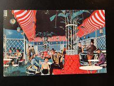 Vintage Main Street U.S.A. Postcard - Ice Cream Parlor Artist Concept by VintageDisneyana on Etsy