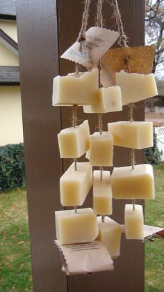 Unscented Fragrance free soap on a rope by BOYDsBARs on Etsy