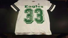 Junk Food-- Philadelphia Eagles 33 Tee #PileggiBoutique
