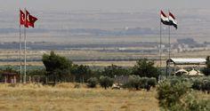 """تقارير: اتفاق تركي أمريكي على """"إنشاء منطقة عازلة"""" على الحدود السورية التركية http://democraticac.de/?p=17247 Reports: Turkish US agreement on """"the establishment of a buffer zone"""" on the Syrian-Turkish border"""