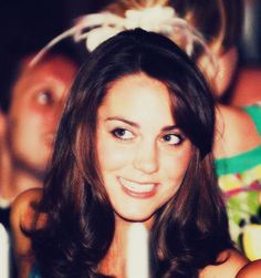 Kate Middleton when she was much younger