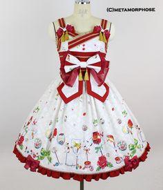 Nostalgic Candy Bar Ribbon Shirred Dress image 9