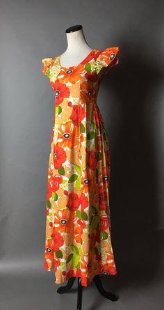 Vintage 60s dress   1960s dress   hawaiian dress   tiki dress  839c1a2db5f