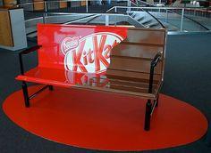 Kit Kat Bench  #ads #creative #marketing
