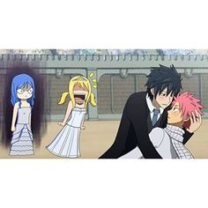I love this entire picture. Twin Star Exorcist, Blue Exorcist, Natsu And Gray, Fairy Tail Couples, Fairy Tail Ships, Cute Dragons, Love Fairy, Dragon Slayer, Fairy Tail Anime