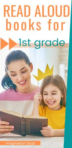 The Best Read Aloud Books for First Grade Grade / 6 Year Olds) Funny Books For Kids, Best Children Books, Childrens Books, Funny Kids, Read Aloud Books, Best Books To Read, Progress Quotes, Science Fiction Authors, Book Reviews For Kids