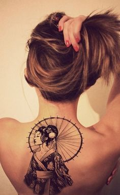 Geisha Tattoo Designs | Get New Tattoos for 2016 Designs and Ideas from Latest…