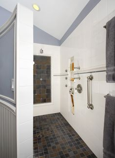 Aging in Place with Style! Altera Design & Remodeling #Bathroom @KitchenBathChan