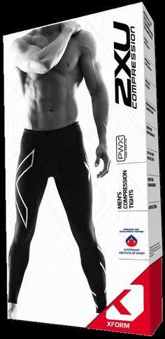 2xu packaging - Google Search Simple Packaging, Packaging Ideas, Packaging Design, Drug Packaging, Product Packaging, Underwear Packaging, Retail, Packing, Sporty