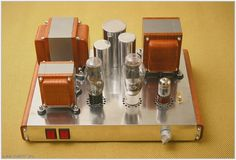 300B Amp by Jean Godbout - Quebec, Canada