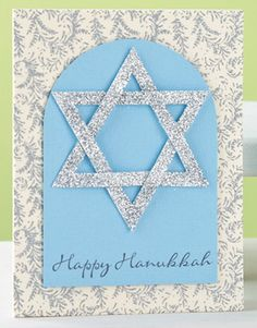 Homemade Hanukkah Menorah Cards are of beautiful blue and white colors that expresses your joy for the holiday. Hanukkah Crafts, Jewish Crafts, Hanukkah Decorations, Hanukkah Menorah, Christmas Hanukkah, Happy Hanukkah, Hannukah, Xmas, Jewish Art
