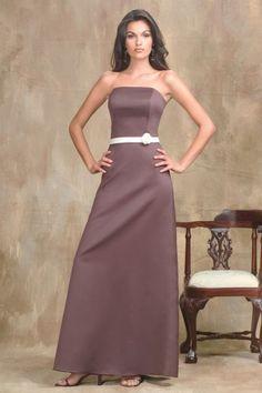 http://www.weddingdressbee.com/strapless-satin-bridesmaid-dress-with-natural-waist-2.html