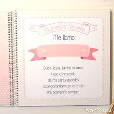 libro primera comunión