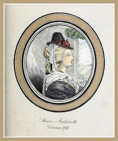 Hats by Madame Bertin 1792 - Marie Antoinette | Flickr - Photo Sharing!