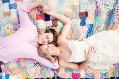 quilt engagement session | Erin Lindsay Images #wedding