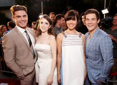Zac Efron, Anna Kendrick, Aubrey Plaza and Adam Devine rocked the group dynamic at the premiere of Mike and Dave Need Wedding Dates! Get the details!