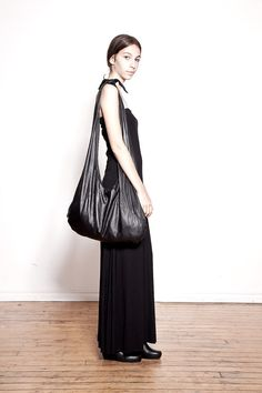 Oversized Washed Leather Bag by Ovate on Etsy, $250.00 #leather #oversized #bags #black #downtown #chic #iwant #forxmas