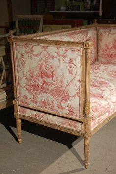 The French Tangerine: ~ totoilely beautoileful toile