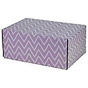 Shop Staples® for 06.2''(L)X 3.7''(W)X9.5''(H) GPP Gift Shipping Box, Classic Line, Purple Zig Zag, 6/Pack. Enjoy everyday low prices and get everything you need for a home office or business.