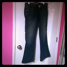 Levis Levis 524 maybe worn 1 time if ever. Med wash. Levi's Jeans Flare & Wide Leg