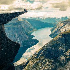 Trolltunga, Norway                                                       …