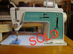 1968  SINGER TOUCH N SEW 628