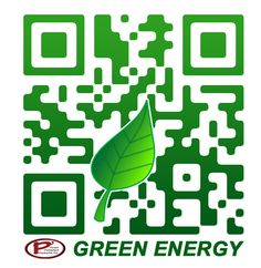 Green Energy Custom QR Code