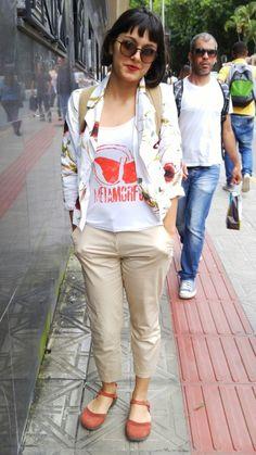 Confira moda de rua em Florianópolis. Os melhores looks para o street style.