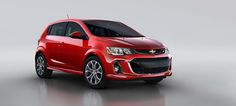 2017 Chevrolet Sonic Screams With New Terrible Facemouth