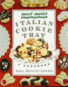 "Read ""Sweet Maria's Italian Cookie Tray A Cookbook"" by Maria Bruscino Sanchez available from Rakuten Kobo. Sweet Maria's Italian Cookie Tray presents sixty-five recipes for the delicious, festive cookies that brighten every Ita. Italian Wedding Cookies, Italian Christmas Cookies, Holiday Cookies, Italian Christmas Traditions, Italian Traditions, Italian Cookie Recipes, Italian Cookies, Italian Desserts, Italian Foods"
